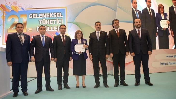 Büyükşehir Zabıta, ''Tüketici Özel Ödülü''ne Layık Görüldü