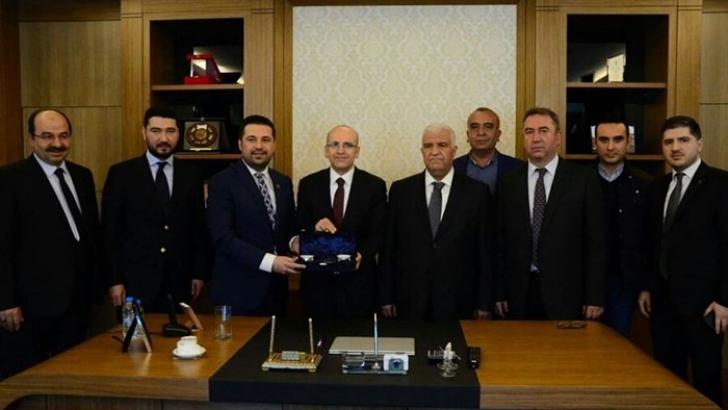 Başbakan Yardımcısı Şimşek'ten Ziyaret