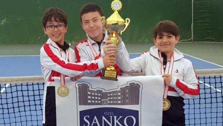 SANKO Okulları İl Birincisi Oldu