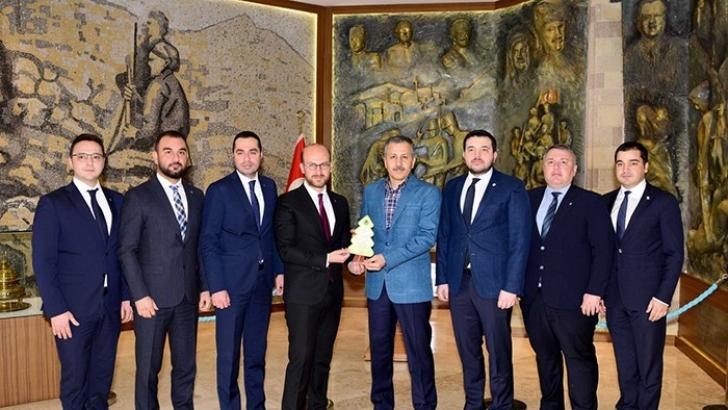 GAGİAD Yönetimi Vali Yerlikaya'yı Ziyaret Etti