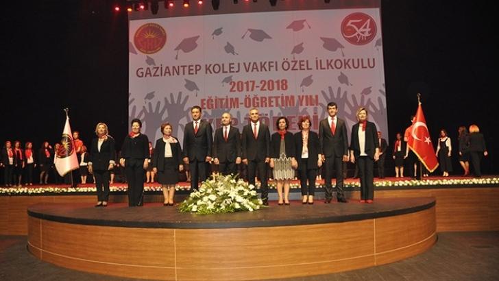 GKV İlkokulu 2018 Mezunlarına muhteşem kep töreni
