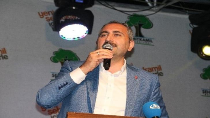 """Adalet Bakanı Gül : """" AK Parti'nin alternatifi yok"""""""