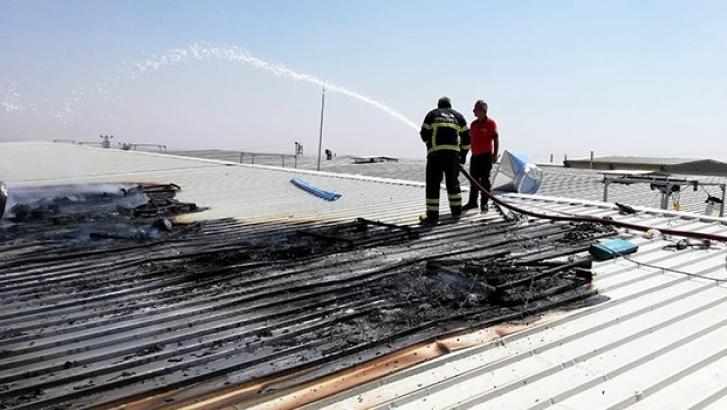 OSB'de yangın korkuttu
