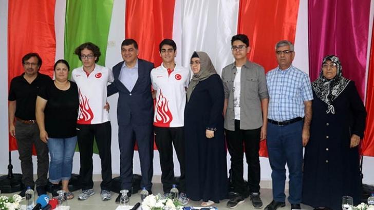 Gaziantepli genç sporculardan büyük başarı