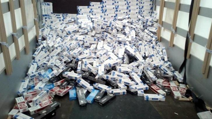 Gaziantep'te 36 bin kaçak sigara yakalandı
