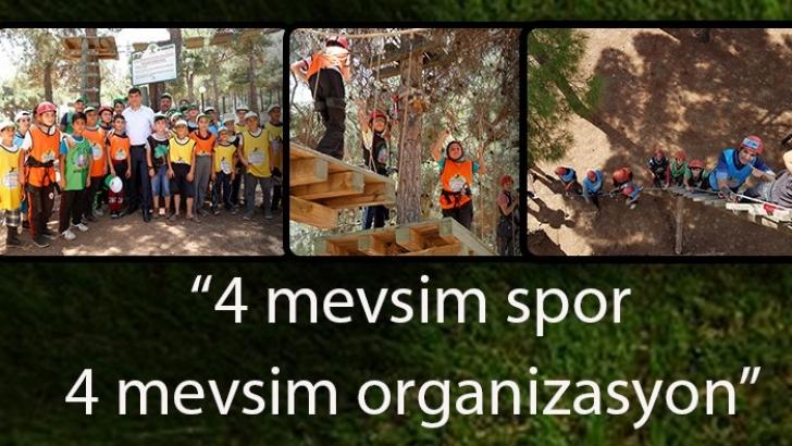 """Şehitkamil'de """"4 mevsim spor 4 mevsim organizasyon"""""""