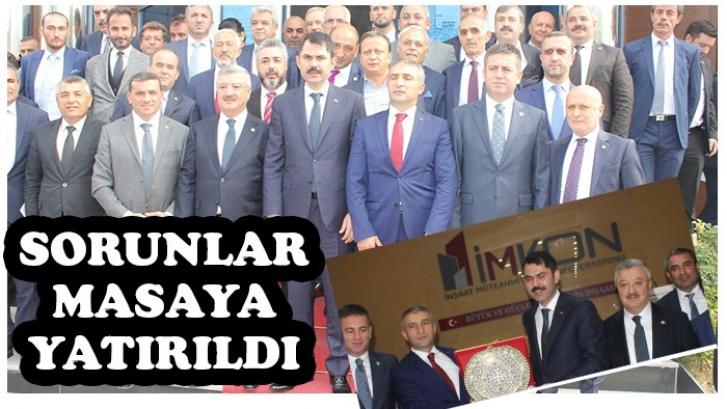 İMKON'DA YAPI SEKTÖRÜ ZİRVESİ GERÇEKLEŞTİ