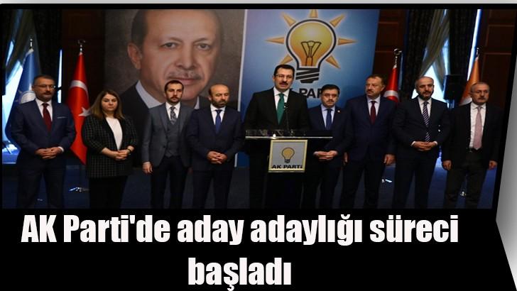 AK Parti'de aday adaylığı süreci başladı