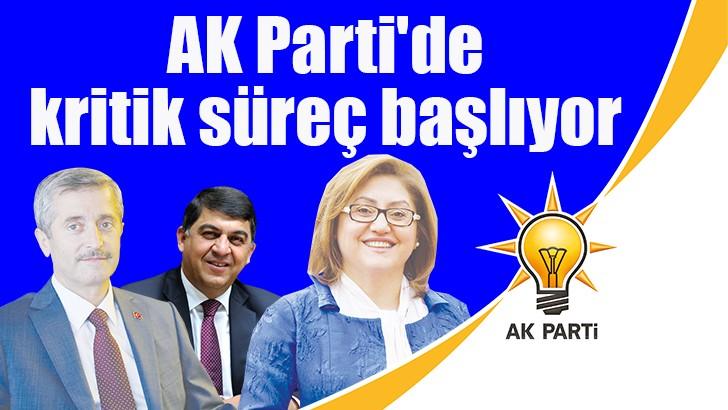 AK Parti'de kritik süreç başlıyor