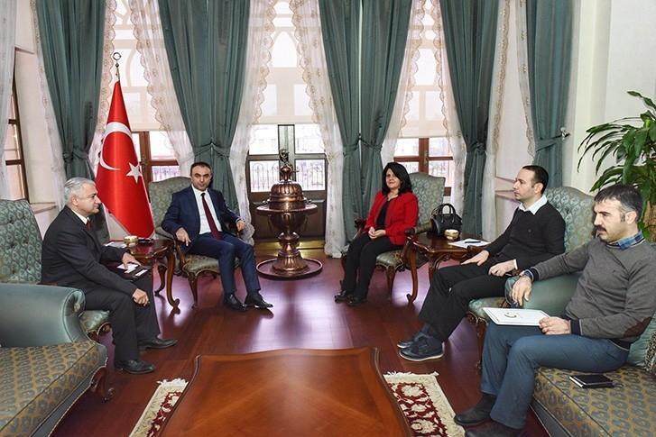 Vali Soytürk'e ziyaretler sürüyor