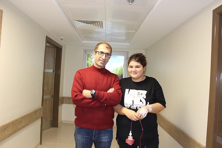Ameliyat için Türkiye'ye Geldi