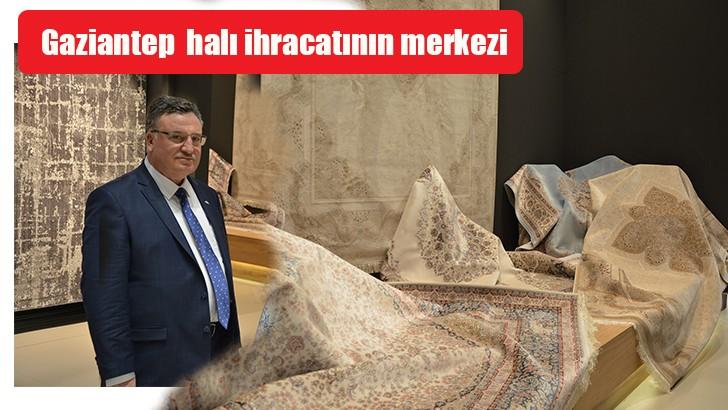 Halı ihracatının yüzde 68,4'ü Gaziantep'ten