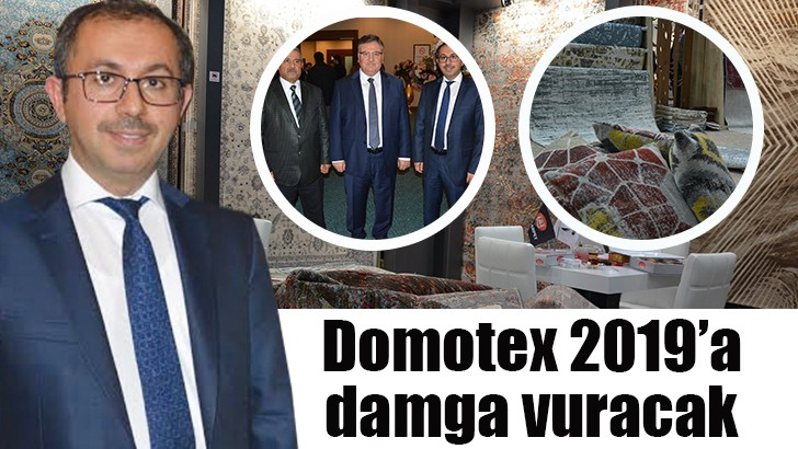 Gaziantepli halıcılar, halılarını Domotex Hannover 2019 için dokudular