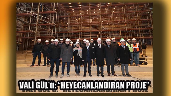 Vali Gül, Şahinbey'in projelerini yerinde inceledi