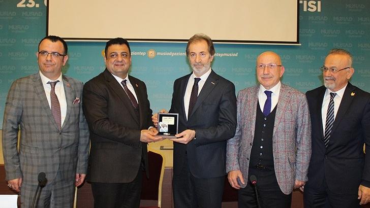 Türk Amerikan İşadamları Derneği, MÜSİAD'ı ziyaret etti