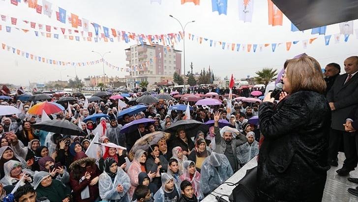 ŞAHİN, 31 MART YEREL SEÇİMLERİNDE DESTEK İSTEDİ