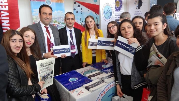 Kilis 7 Aralık Üniversitesi, İpekyolu Kariyer Fuarı'nda