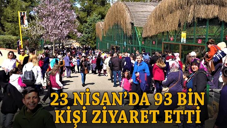 Gaziantep Hayvanat Bahçesi, ziyaretçi akınına uğradı
