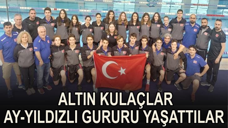 Balkan yüzme şampiyonasında başarılı karne