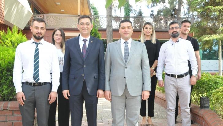 GSO Yönetim Kurulu Başkanı Adnan Ünverdi, Ninova Nöroteknoloji AR-GE Merkezi'ni Ziyaret Etti