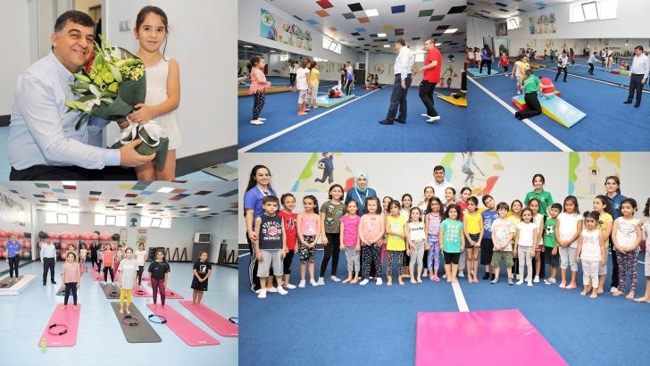 Çocuklar İçin Popüler Branş 'Cimnastik'