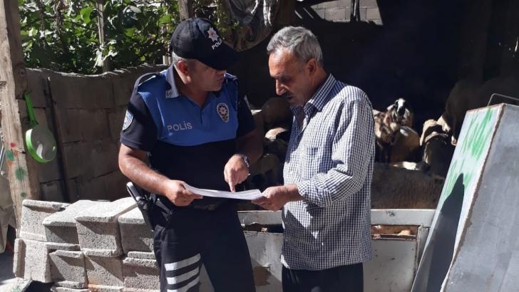 Polis Sahte Paraya Karşı Esnafı Uyardı