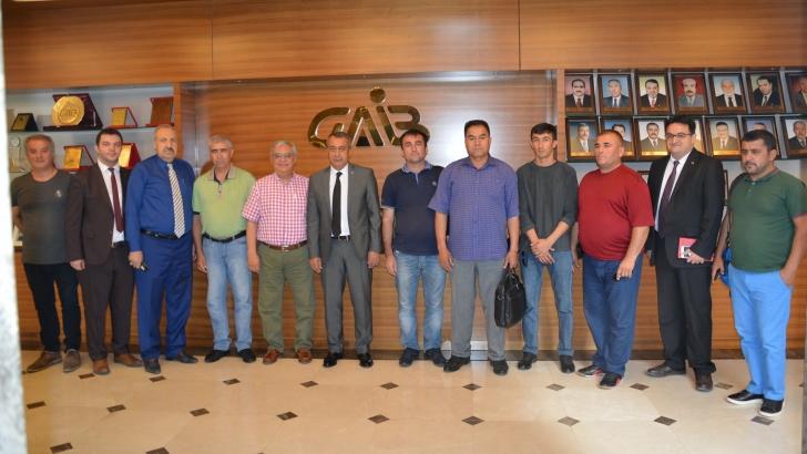 Tacikistanlı Üreticiler Gaziantep'in İhracatını Mercek Altına Aldı