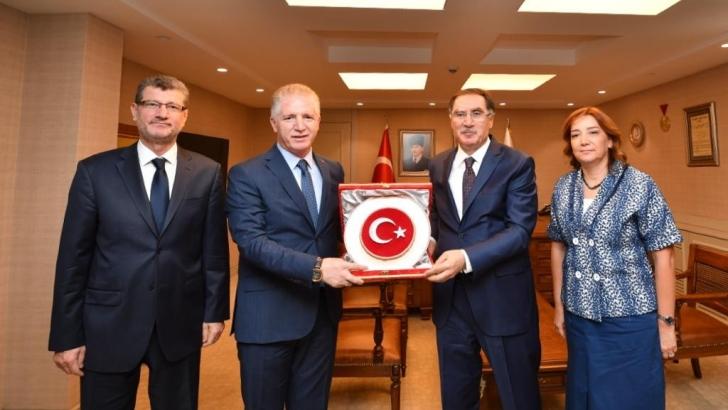 Başdenetçi Malkoç'tan Vali Gül'e Ziyaret