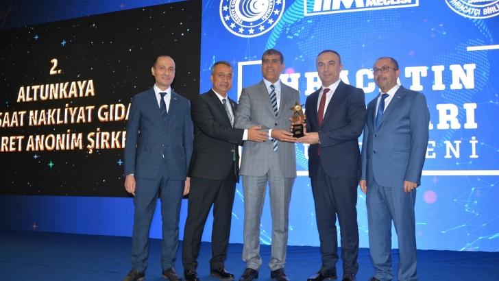 İhracatın Türkiye Şampiyonu Altunkaya'ya Bir Ödülde GAİB'ten