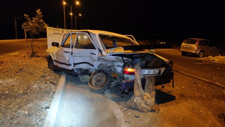 Gaziantep'te trafik kazası: 1'i çocuk 5 yaralı