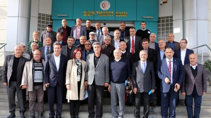 CHP Heyetinden Nizip Ticaret Odası'na Ziyaret