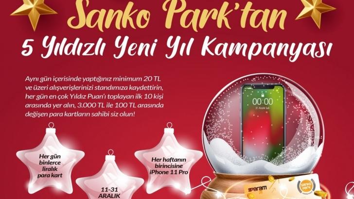 SANKO Park'tan 5 yıldızlı yılbaşı kampanyası