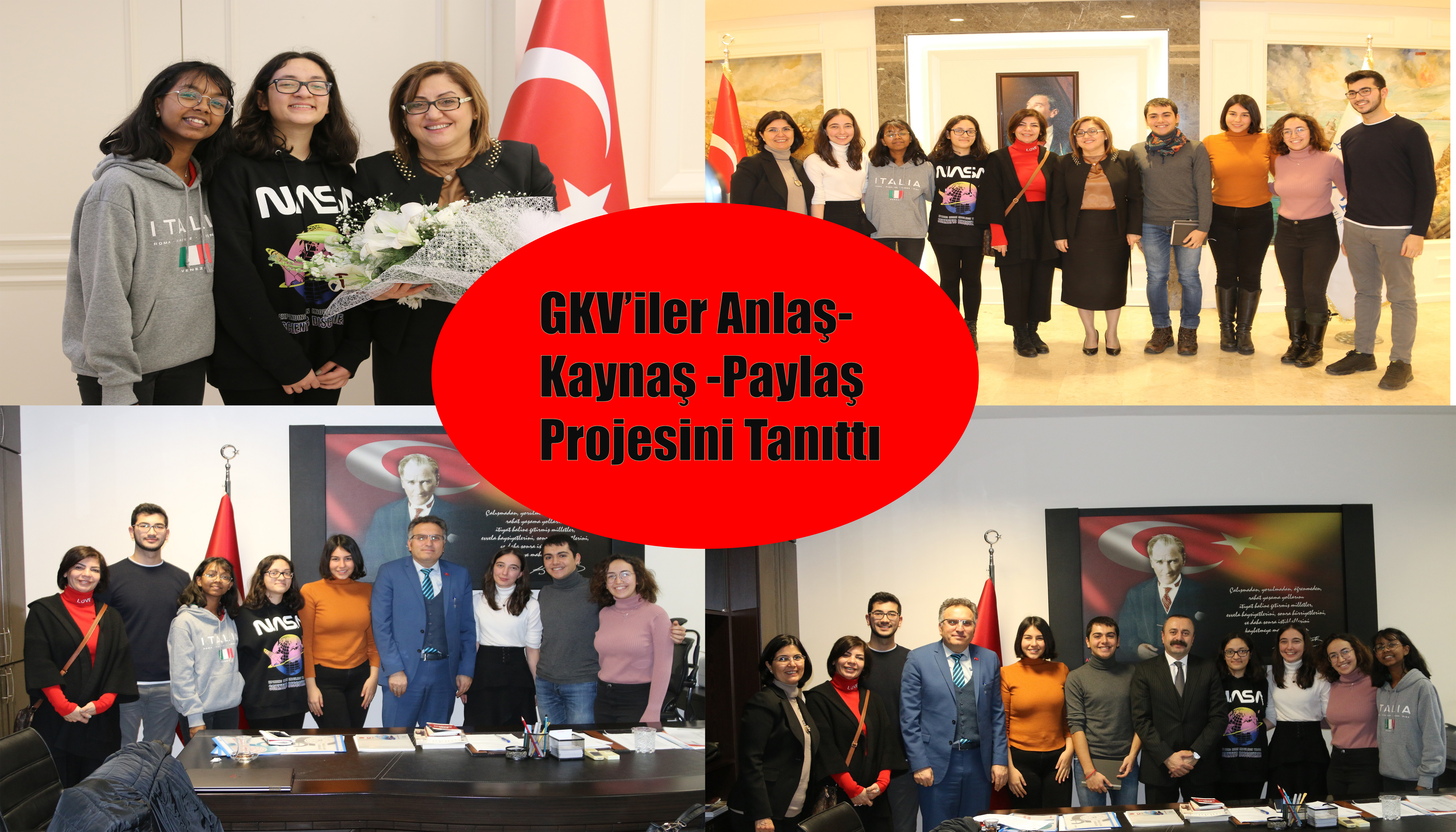 GKV'iler Anlaş- Kaynaş -Paylaş Projesini Tanıttı
