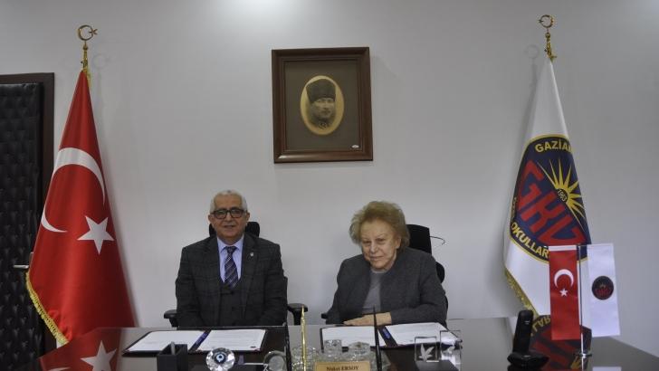 Gaziantep Kolej Vakfı ve HKÜ arasında işbirliği protokolü imzalandı