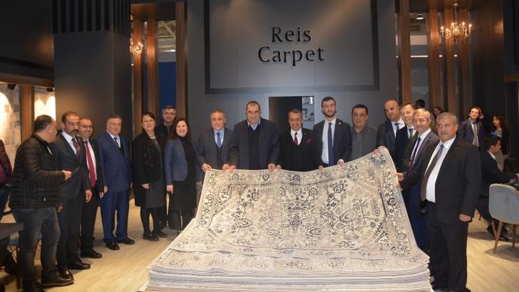 """OSB Başkanı Cengiz Şimşek:  """"Gaziantep, Domotex'in gözdesi oldu"""""""