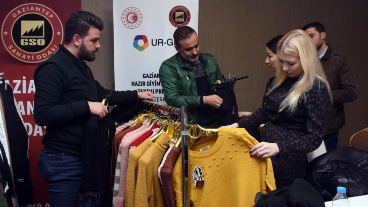 GSO'DAN, PENTEX FUARI'NA ALIM HEYETİ ORGANİZASYONU
