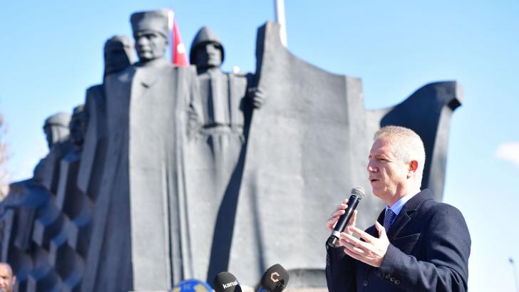 Gaziantep'in Gazilik Unvanı İle Onurlandırılışının 99.Yıldönümü kutlandı