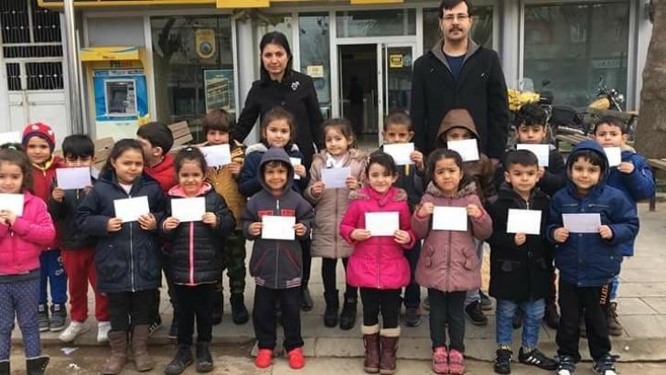 Antepli miniklerden Afrin'deki Mehmetçiğe mektup
