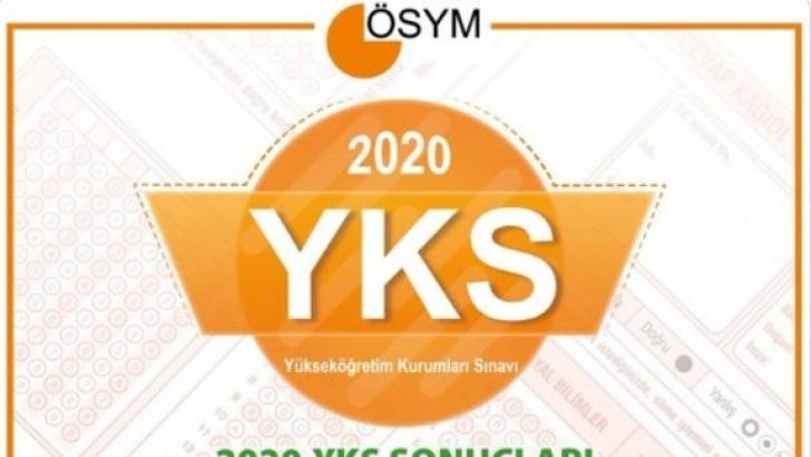YKS 2020 sonuçları açıklandı!
