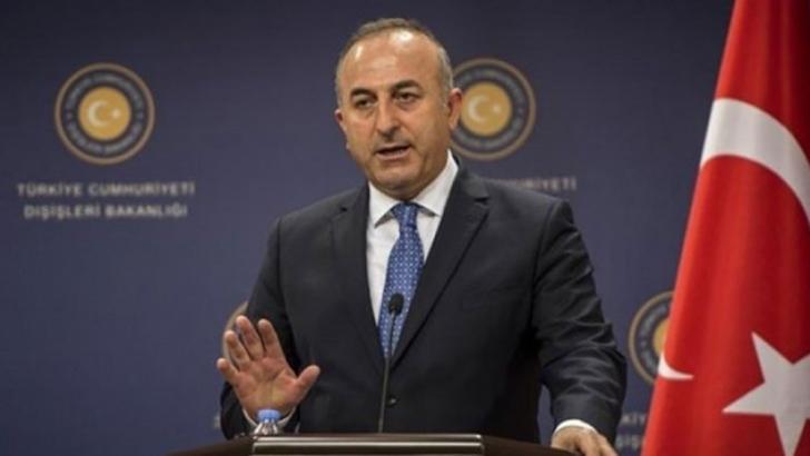 Çavuşoğlu: Türkiye'ye yaptırım tehdidi yapıcı değil