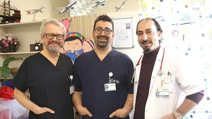Özel Deva Hastanesi'nden ekip başarısı