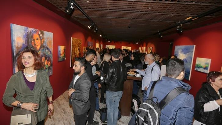 Uluslararası Kadın Sanatçılar Çalıştayı Sergisi Açıldı