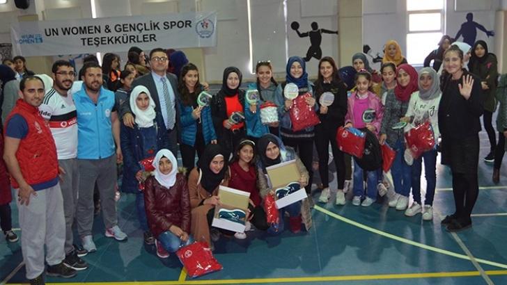 Gençlikspor ve Unwomen işbirliği