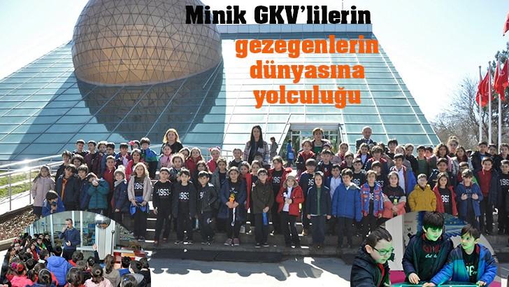Minik GKV'lilerin gezegenlerin dünyasına yolculuğu