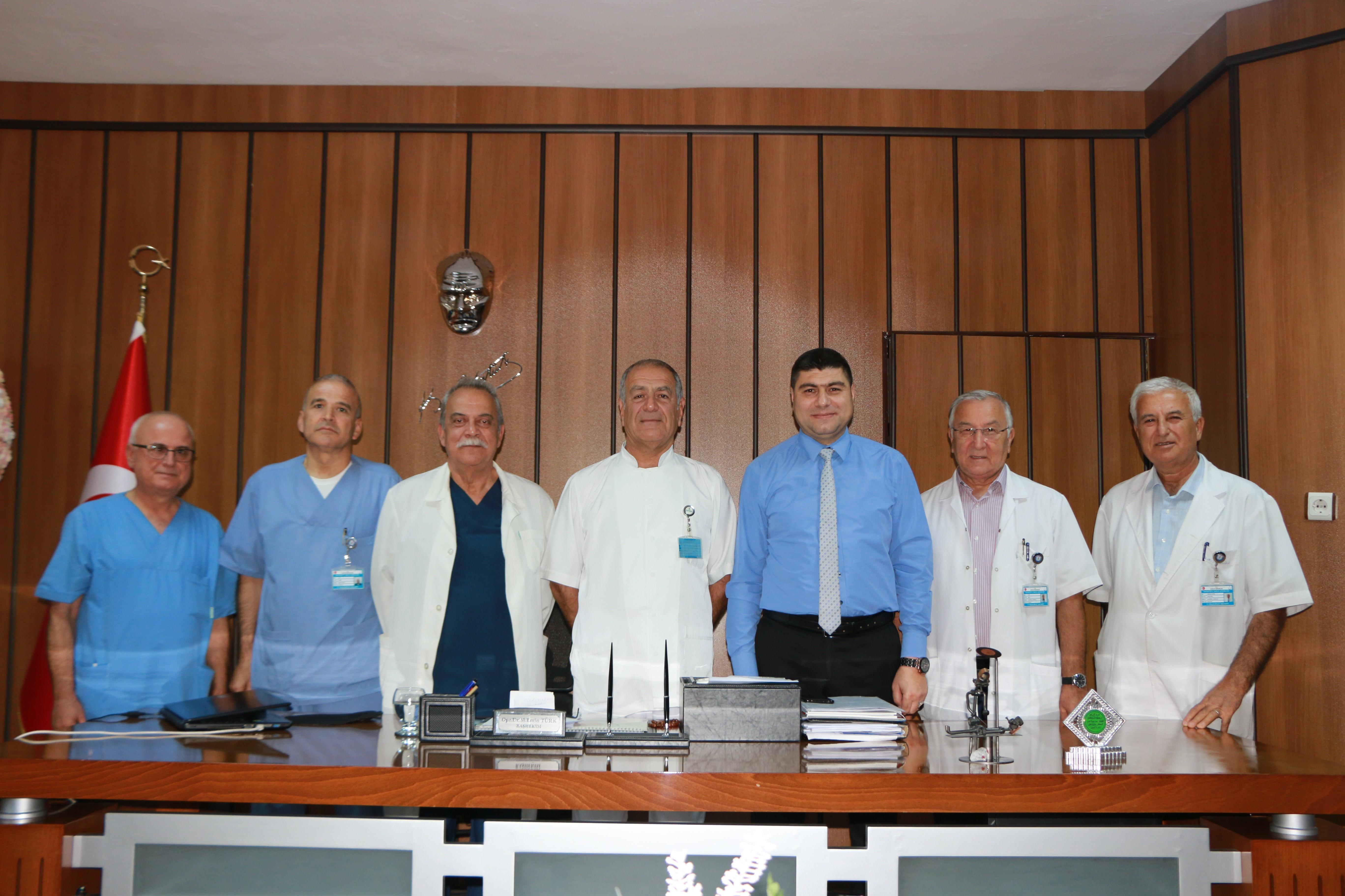 25 Aralık Devlet Hastanesi Yanık Merkezi Bir İlk Başardı