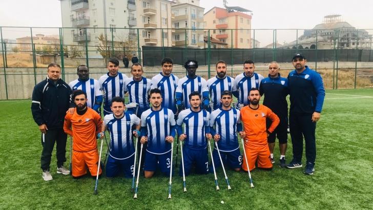 ŞAHİNBEY AMPUTE DEPLASMANDA GALİP GELDİ