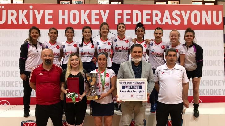 ANKA'dan şampiyon hokeycilere tebrik