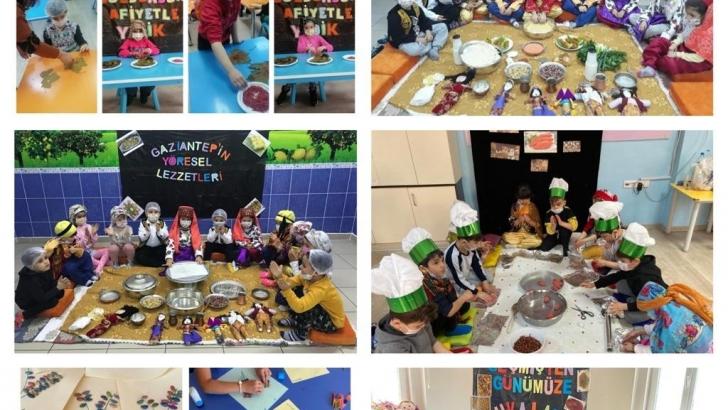Okul öncesi öğretmenleri Anlamlı bir Proje