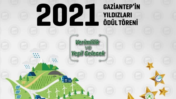 """GSO """"GAZİANTEP'İN YILDIZLARI ÖDÜL TÖRENİ'' 6 EKİM ÇARŞAMBA GÜNÜ YAPILACAK"""